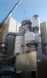 Les sites industriels, domaines d'intervention du calorifugeur